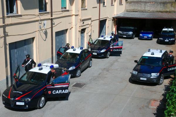 Slot machine carabinieri