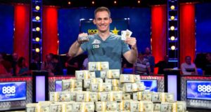 bonomo big one wsop record