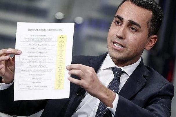 preu slot tasse giochi reddito cittadinanza quota 100 di maio