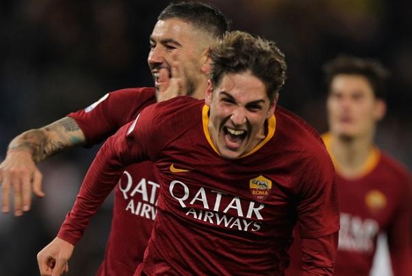 zaniolo roma quote champions