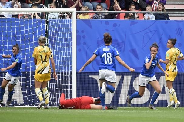 italia australia calcio femminile mondiale