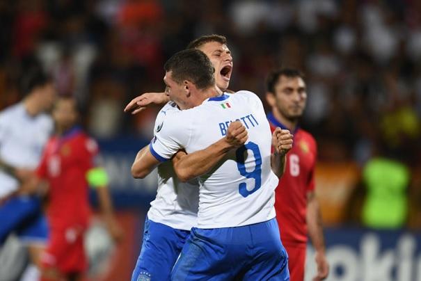 quote nazionale italia calcio