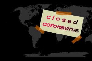chiuso per coronavirus